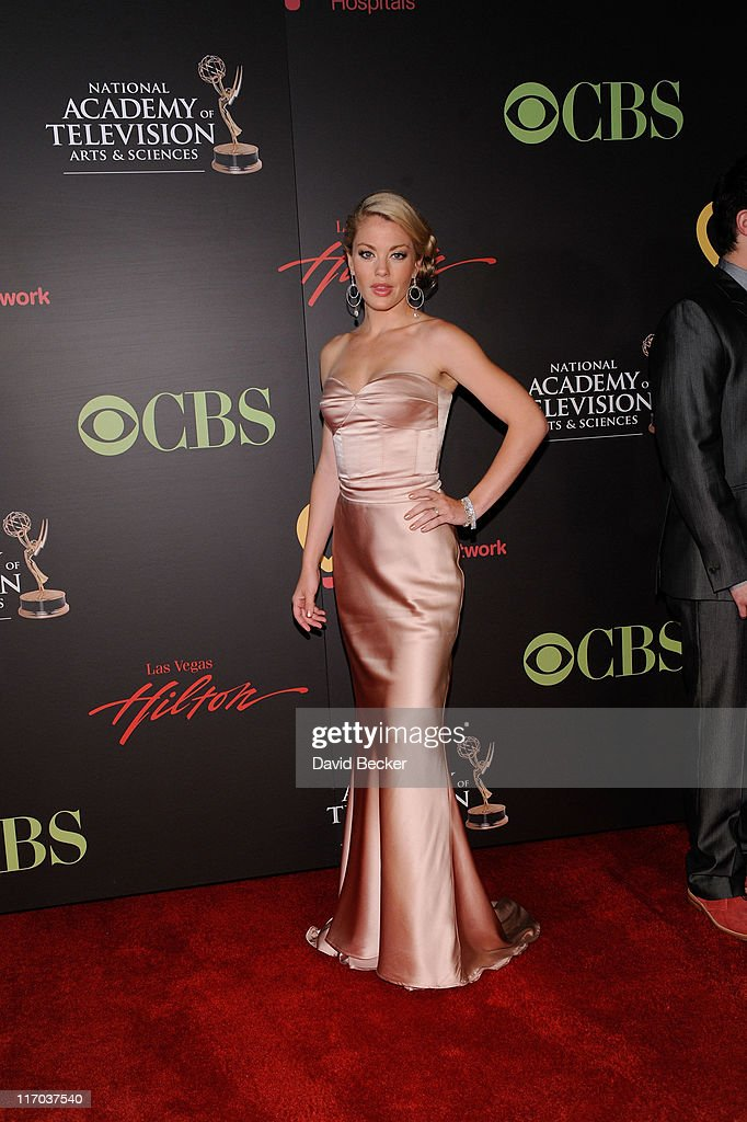 Actress Bree Williamson arrives at the 38th Annual Daytime Entertainment Emmy Awards held at the Las Vegas Hilton on June 19, 2011 in Las Vegas, Nevada.