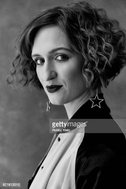 Actress Breeda Wool from ATT AUDIENCE's 'Mr Mercedes' poses for a portrait during ComicCon 2017 at Hard Rock Hotel San Diego on July 23 2017 in San...
