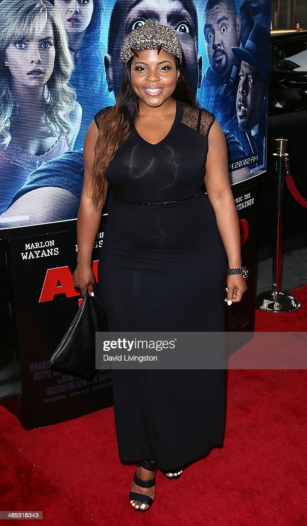 Actress Brely Evans attends the premiere of Open Road Films' 'A Haunted House 2' at Regal Cinemas L.A. Live on April 16, 2014 in Los Angeles, California.