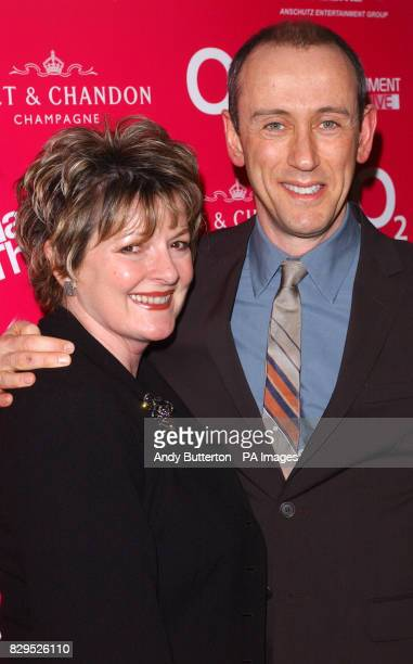 Actress Brenda Blethyn and National Theatre Director Nicholas Hytner