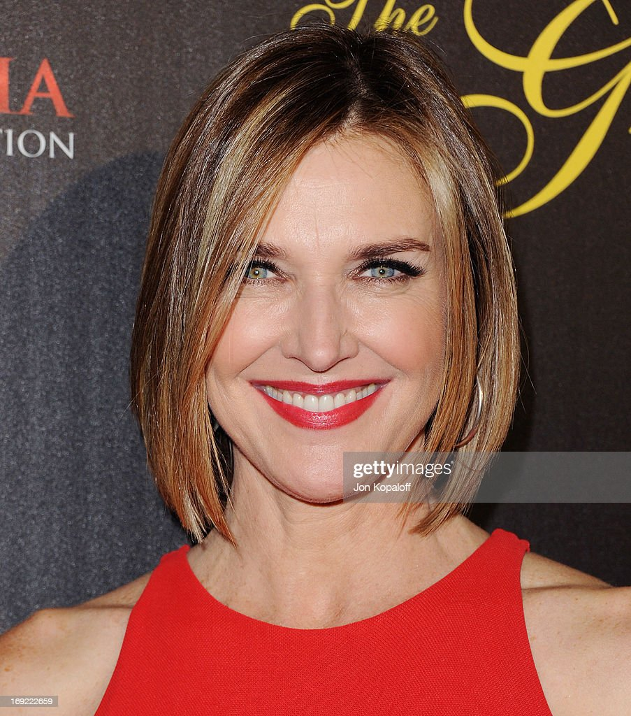 Actress Brenda Strong arrives 38th Annual Gracie Awards Gala at The Beverly Hilton Hotel on May 21, 2013 in Beverly Hills, California.