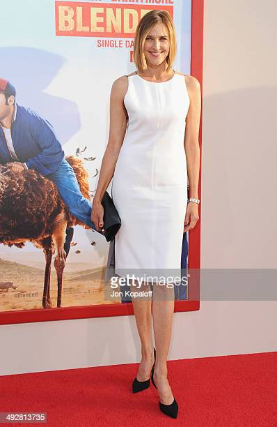 Actress Brenda Strong arrives at the Los Angeles Premiere 'Blended' at TCL Chinese Theatre on May 21 2014 in Hollywood California
