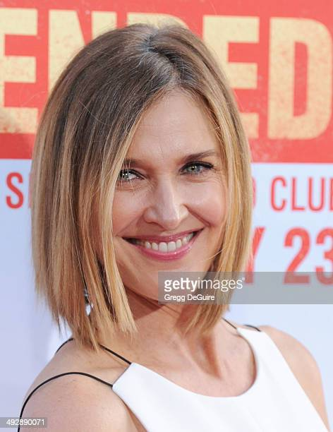 Actress Brenda Strong arrives at the Los Angeles premiere of 'Blended' at TCL Chinese Theatre on May 21 2014 in Hollywood California