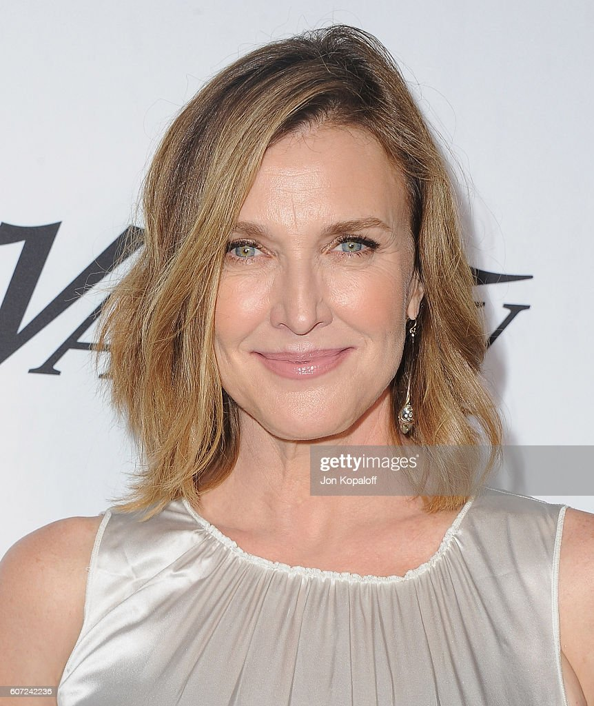 Actress Brenda Strong arrives at Variety And Women In Film's Pre-Emmy Celebration at Gracias Madre on September 16, 2016 in West Hollywood, California.