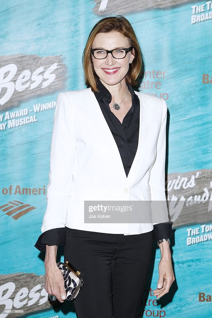 Actress <a gi-track='captionPersonalityLinkClicked' href=/galleries/search?phrase=Brenda+Strong&family=editorial&specificpeople=202892 ng-click='$event.stopPropagation()'>Brenda Strong</a> attends the Opening Night Of The Gershwin's 'Porgy And Bess' At The Ahmanson Theatre at Ahmanson Theatre on April 23, 2014 in Los Angeles, California.
