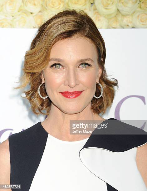 Actress Brenda Strong attends the Summer TCA Tour Hallmark Channel and Hallmark Movies And Mysteries at a private residence on July 29 2015 in...