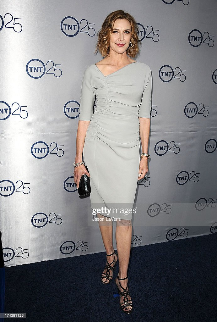 Actress Brenda Strong attends TNT's 25th anniversary party at The Beverly Hilton Hotel on July 24, 2013 in Beverly Hills, California.
