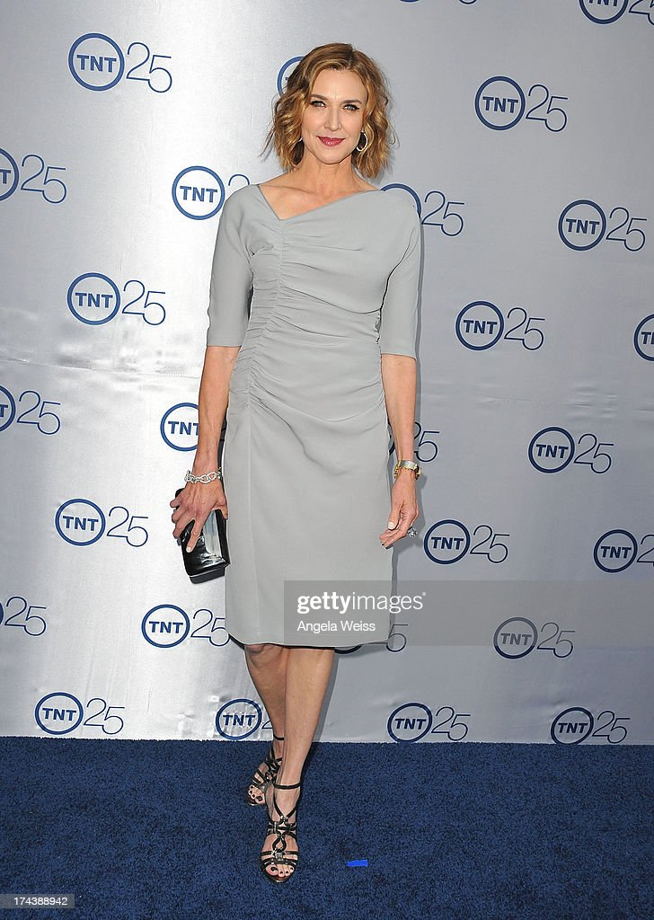 Actress Brenda Strong attends TNT's 25th Anniversary Partyat The Beverly Hilton Hotel on July 24, 2013 in Beverly Hills, California.