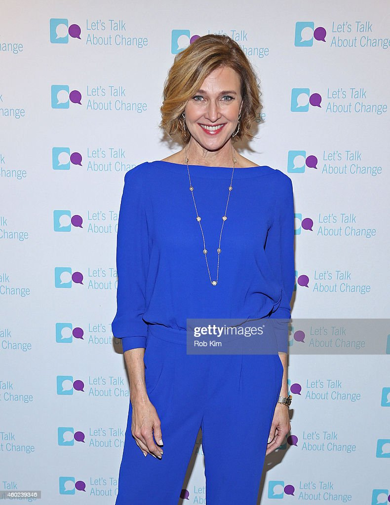 Actress Brenda Strong teams up with Pfizer to create a short video as part of the 'Let's Talk About Change' campaign on December 10, 2014.