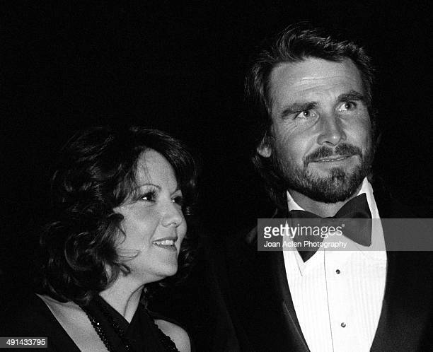 Actress Brenda Vaccaro and actor James Brolin attend the Filmex black tie ball at the Century City Hotel after the movie premiere of 'FIST' on April...