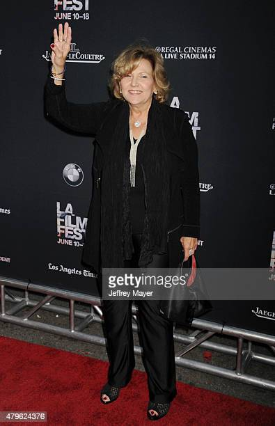 Actress Brenda Vaccaro attends the opening night premiere of 'Grandma' during the 2015 Los Angeles Film Festival at Regal Cinemas LA Live on June 10...