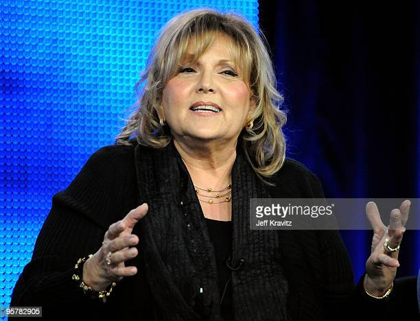 Actress Brenda Vaccaro of 'You Don't Know Jack' speak during the HBO portion of the 2010 Television Critics Association Press Tour at the Langham...