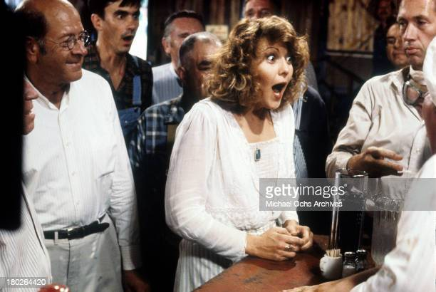 Actress Brenda Vaccaro on set of the Universal Studios movie ' Fast Charlie the Moonbeam Rider' in 1979