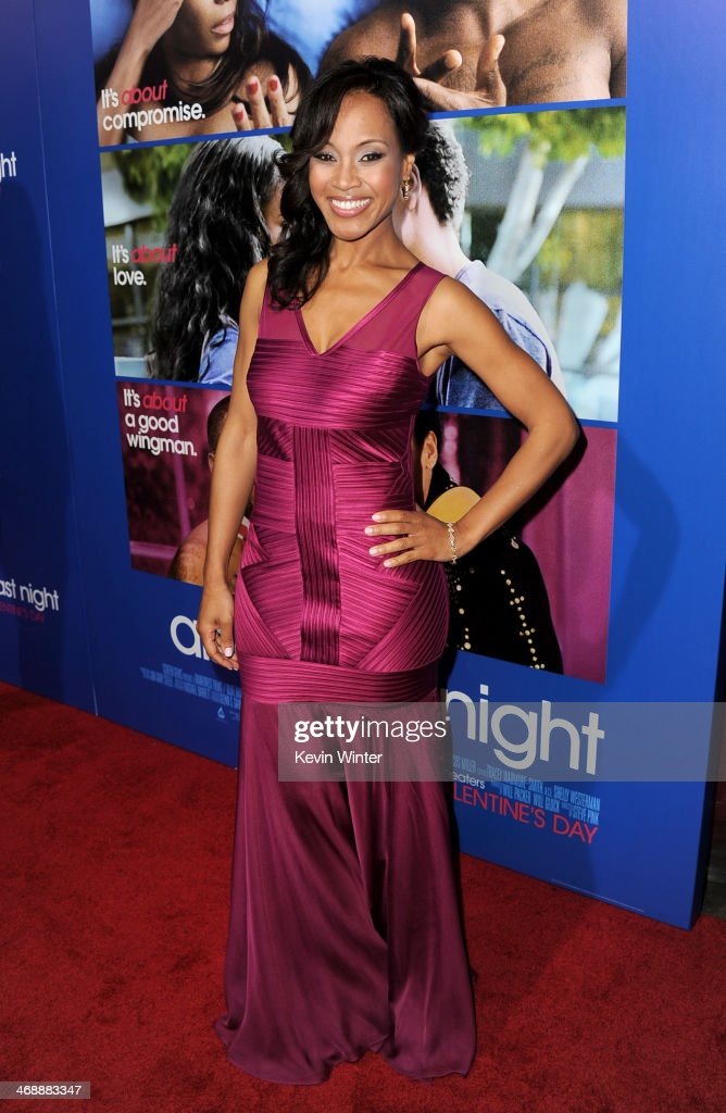 Actress Brenda Vivian arrives at the Pan African Film & Arts Festival Premiere of Screen Gems' 'About Last Night' at the Cinerama Dome Theatre on February 11, 2014 in Los Angeles, California.