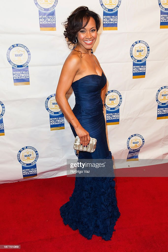 Actress Brenda Vivian attends the 23rd Annual NAACP Theatre Awards at Saban Theatre on November 11, 2013 in Beverly Hills, California.