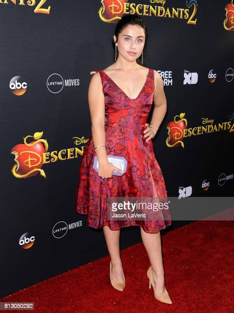 Actress Brenna D'Amico attends the premiere of 'Descendants 2' at The Cinerama Dome on July 11 2017 in Los Angeles California