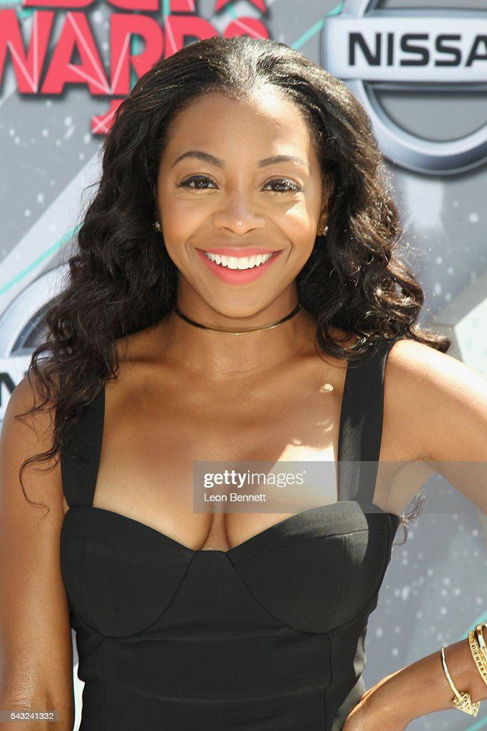 Actress <a gi-track='captionPersonalityLinkClicked' href=/galleries/search?phrase=Bresha+Webb&family=editorial&specificpeople=5460613 ng-click='$event.stopPropagation()'>Bresha Webb</a> attends the Make A Wish VIP Experience at the 2016 BET Awards on June 26, 2016 in Los Angeles, California.