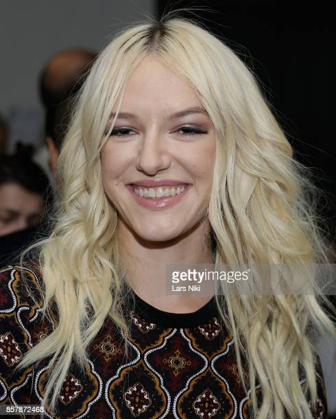 Actress Bria Vinaite attends The Academy of Motion Picture Arts Sciences 2017 New Members Party at NeueHouse Madison Square on October 2 2017 in New...