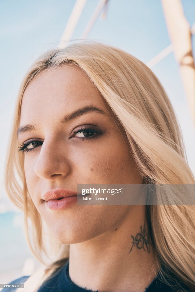 Actress Bria Vinaite is photographed for Self Assignment on May 23, 2017 in Cannes, France.
