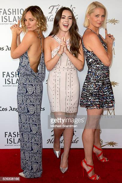Actress Briana Evigan Actress Ava Allan and Actress Katherine LaNasa attends the 17th Annual Newport Beach Film Festival premiere of 'Love Is All You...