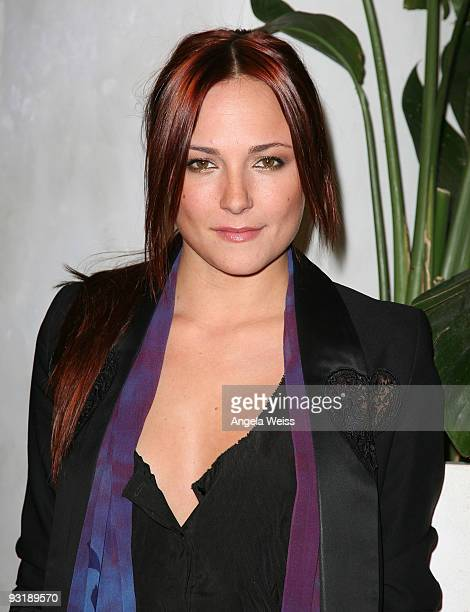 Actress Briana Evigan arrives at Julia Clancey's 'America's Next Top Model' finale party held at Villa Blanca on November 17 2009 in Beverly Hills...