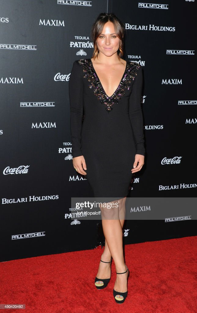 Actress Briana Evigan arrives at the MAXIM Hot 100 Celebration Event at Pacific Design Center on June 10, 2014 in West Hollywood, California.