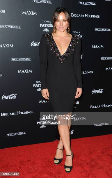 Actress Briana Evigan arrives at the MAXIM Hot 100 Celebration Event at Pacific Design Center on June 10 2014 in West Hollywood California
