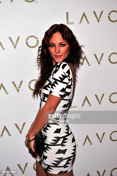 Actress Briana Evigan arrives to celebrate her birthday at Lavo Restaurant Nightclub at The Palazzo on October 30 2009 in Las Vegas Nevada