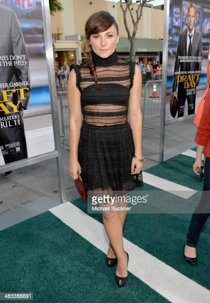 Actress Briana Evigan attends Premiere Of Summit Entertainment's 'Draft Day' at Regency Bruin Theatre on April 7 2014 in Los Angeles California