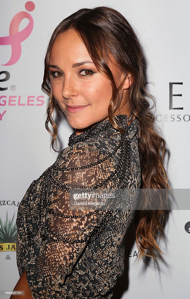 Actress Briana Evigan attends the 2nd Annual Inspiration Awards to benefit The Susan G. Komen For The Cure at Royce Hall, UCLA on November 4, 2012 in Westwood, California.