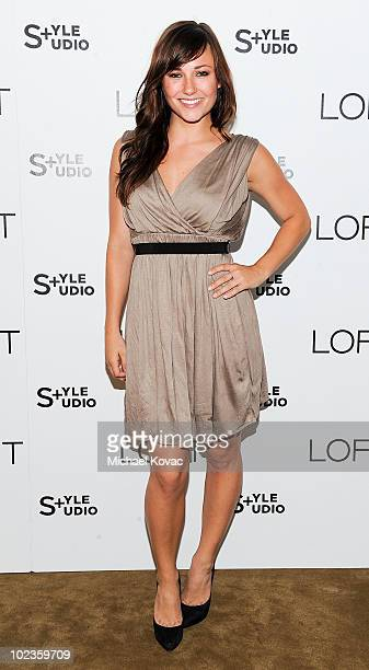 Actress Briana Evigan attends the LOFT Fall 2010 Style Studio Press Preview and Cocktail Party at Chateau Marmont on June 23 2010 in Los Angeles...