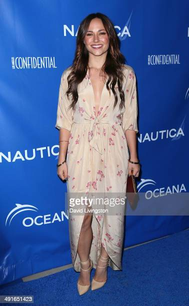 Actress Briana Evigan attends the Nautica and LA Confidential's Oceana Beach House Party at the Marion Davies Guest House on May 16 2014 in Santa...
