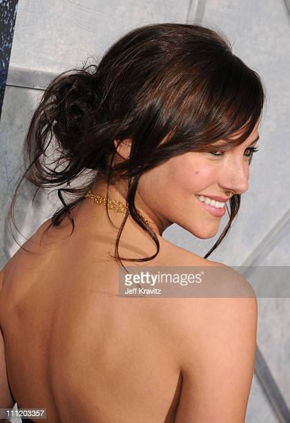Actress Briana Evigan attends Touchstone Pictures' and Summit Entertainment's world premiere of 'Step Up 2 The Streets' at the Arclight Theatre on...