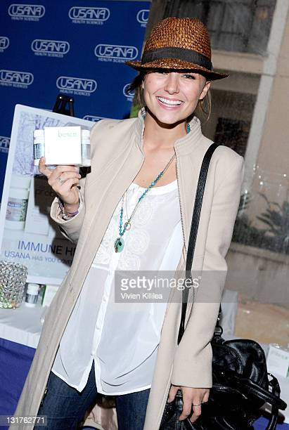 Actress Briana Evigan attends USANA at Kari Feinstein's Academy Awards Style Lounge at Montage Beverly Hills on February 25 2011 in Beverly Hills...