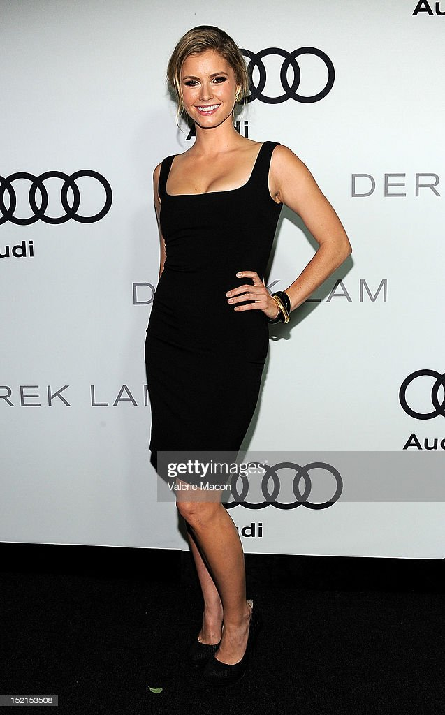 Actress Brianna Brown arrives at Audi And Derek Lam Kick Off Emmy Week 2012 party at Cecconi's Restaurant on September 16, 2012 in Los Angeles, California.
