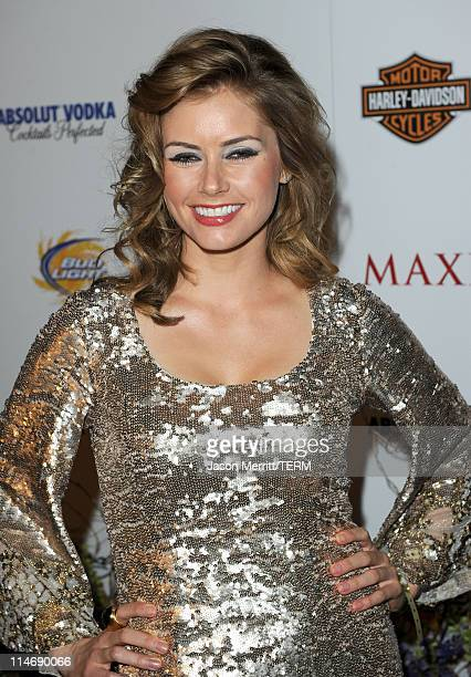 Actress Brianna Brown arrives at the 11th annual Maxim Hot 100 Party with HarleyDavidson ABSOLUT VODKA Ed Hardy Fragrances and ROGAINE held at...