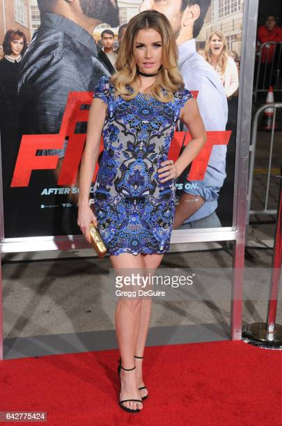 Actress Brianna Brown arrives at the premiere of Warner Bros Pictures' 'Fist Fight' at Regency Village Theatre on February 13 2017 in Westwood...
