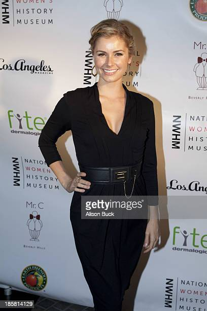 Actress Brianna Brown attends the National Women's History Museum Presents 2nd Annual Women Making History at Mr C Beverly Hills on October 24 2013...