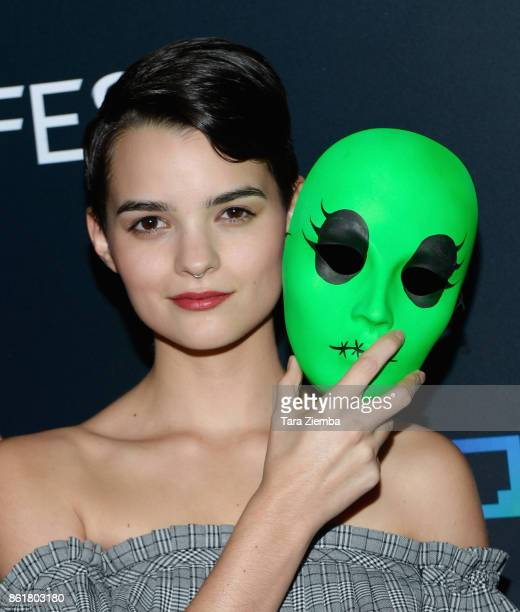 Actress Brianna Hildebrand attends the 2017 Screamfest Horror Film Festival at TCL Chinese 6 Theatres on October 15 2017 in Hollywood California