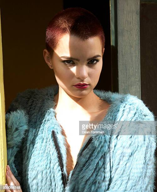 Actress Brianna Hildebrand is photographed for Self Assignment on November 14 2014 in Los Angeles California
