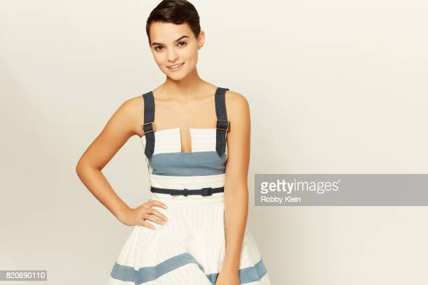 Actress Brianna Hildebrand of Fox's 'The Exorcist' poses for a portrait during ComicCon 2017 at Hard Rock Hotel San Diego on July 20 2017 in San...