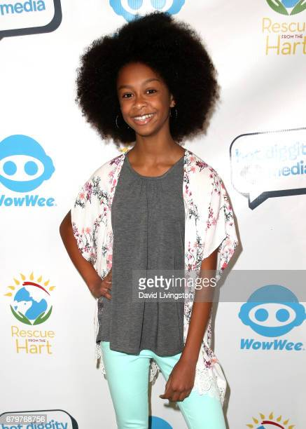 Actress Brianna Reed attends Celebrities To The Rescue at CBS Studios on May 6 2017 in Los Angeles California