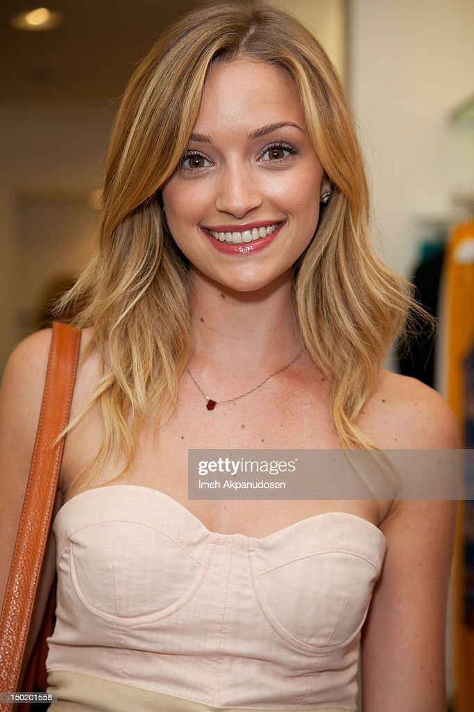 Actress Brianne Howey attends the Teen Vogue Back-To-School Event & Madison t Boutique Launch Party on August 11, 2012 in Pacific Palisades, California.