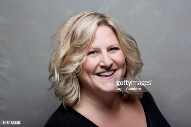 Actress Bridget Everett from the film Patti Cake$ is photographed at the 2017 Sundance Film Festival for Los Angeles Times on January 22 2017 in Park...