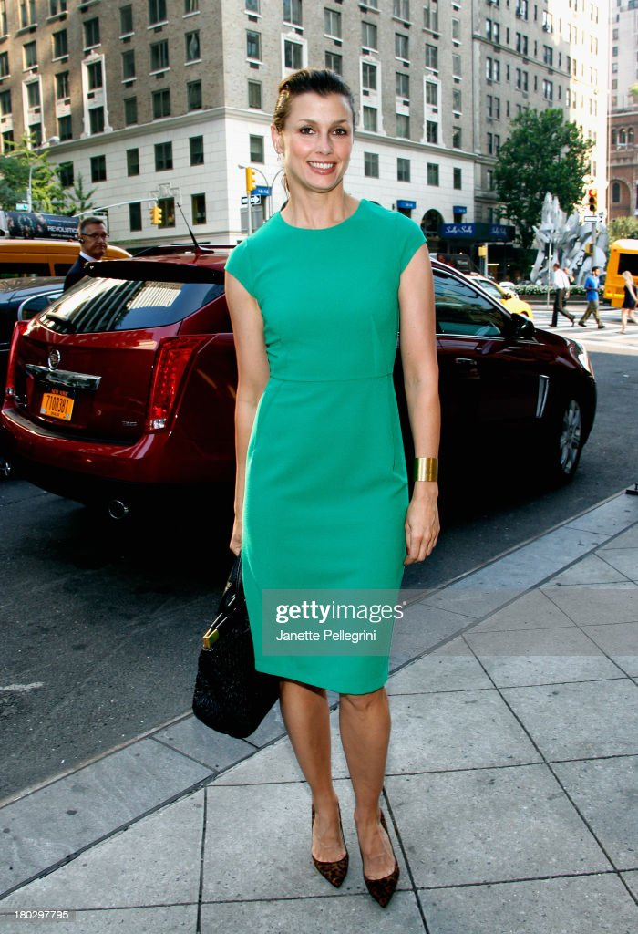 Actress <a gi-track='captionPersonalityLinkClicked' href=/galleries/search?phrase=Bridget+Moynahan&family=editorial&specificpeople=204689 ng-click='$event.stopPropagation()'>Bridget Moynahan</a> arrives at the Annual Charity Day Hosted By Cantor Fitzgerald And BGC at the Cantor Fitzgerald Office on September 11, 2013 in New York, United States.