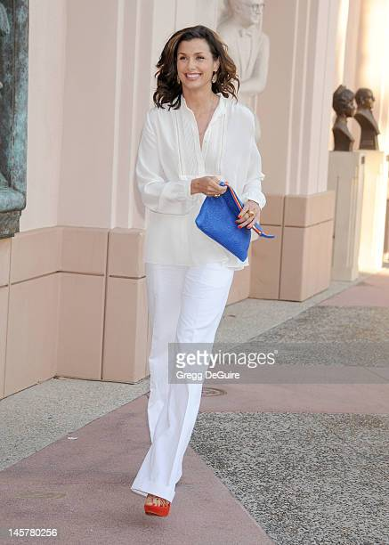 Actress Bridget Moynahan arrives at the 'Blue Bloods' Special Screening And Panel Discussion at Leonard H Goldenson Theatre on June 5 2012 in North...