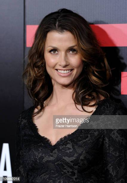 Actress Bridget Moynahan arrives at the premiere of Columbia Pictures' 'Battle Los Angeles' at the Regency Village Theater on March 8 2011 in...