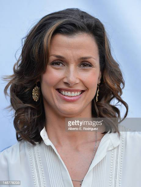 Actress Bridget Moynahan arrives to a screening and panel discussion of CBS's 'Blue Bloods' at Leonard H Goldenson Theatre on June 5 2012 in North...