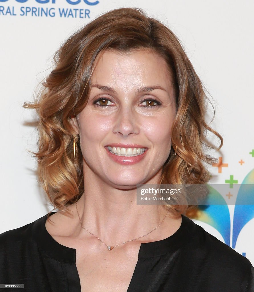 Actress Bridget Moynahan attends Natural Spring Water Resource Launch Event at Pier 36 on June 5, 2013 in New York City.