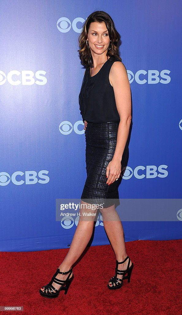 Actress Bridget Moynahan attends the 2010 CBS UpFront at Damrosch Park, Lincoln Center on May 19, 2010 in New York City.